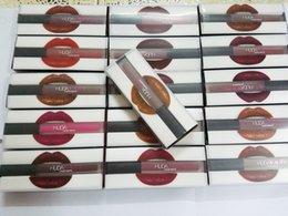 Wholesale Hot Huda beauty Matte Lipstick Lip Gloss colors Transparent box High quality DHL Gift