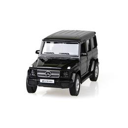 Wholesale UNI FORTUNE BZ G Class G55 G63 AMG Black alloy models SUV car pull back car children s toys car Kids toy