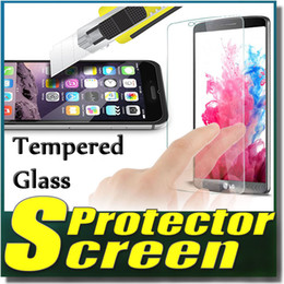 Wholesale Explosion Proof Tempered Glass Screen Protector Film For Samsung Galaxy Core Prime G530H A710 A8 A9 iPhone SE S S Plus Sony Z5 LG G5