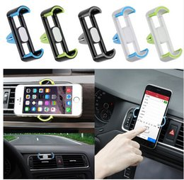 Wholesale Best Universal Mini Car Air Outlet Holder Stents Vent Mount Support For Cell Phone
