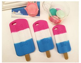 PINK Ice Cream Phone Case ice-lolly Cell Phone Cover Lovely and Creative Case For Iphone 4 5 Iphone 6 Iphone 6Plus