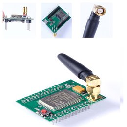Wholesale A6 GSM GPRS Development Board A6 Adapter Quad band SMS Voice Data Transfer Antenna