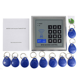 Wholesale High Quality RFID Proximity Entry Door Access Control System KHz Key Fobs For Home Security F1601D