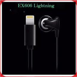 Wholesale Joyroom JR EX606 In Ear Earphone Lightning Port Headset Digital Music Hifi Chip Earphone for Lightning Phone