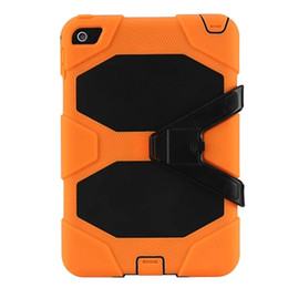 For iPadMini4 7.9inch Tablet Military Extreme Heavy Duty Shockproof Case With Screen Protector Kickstand Stand Cover 12Color