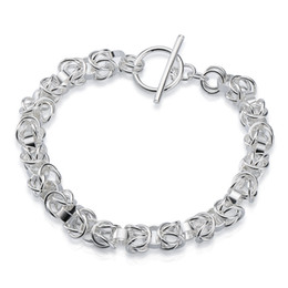 Factory direct wholesale 925 Sterling Silver TO leading Bracelet Silver Jewelry