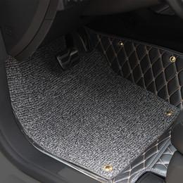 for Subaru Forester 2009-2012 Car Floor Mats Car Special Floor Mat Black Brown Wine Red Beige