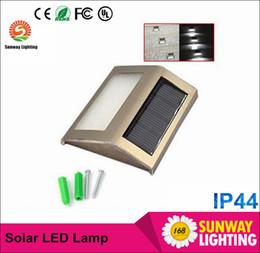 2016 единая панель Солнечный свет Лампы светодиодные солнечные фонари для сада IP44 2 Leds Наружная стена lightImported монокристаллического кремния панели солнечных батарей дешевый, но надежный бюджет единая панель