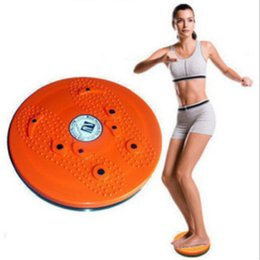 Wholesale NEW Waist Twister Plate Plastic Magnetic Twist Massage Board Fitness Equipment SE025