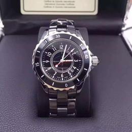 Cerámica blanca reloj de pulsera en Línea-2016 Relojes de cuarzo de alta calidad de la señora White Ceramic Watches de la marca de fábrica del nuevo vendedor caliente para las mujeres Relojes exquisitos de las mujeres de la manera