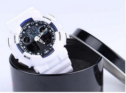 Wholesale Hot Newest Men GA110 Sports Watches unisex AUTO DATE Waterproof wristwatches Luxury Digital Watch with box