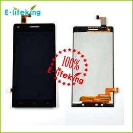 Excellent quality Wholesale price black & white touch screen digitizer replacement for Huawei G6 with free shipping and tracking NO