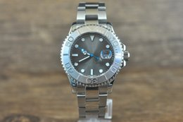Wholesale Luxury branded new mm YM series stainless steel case back high quality watch for man