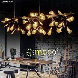 Wholesale Moooi Heracleum II pendelleuchte von Bertjan pot Moderne LED Pendelleuchte Länge cm Gold oder Dunkelbraun