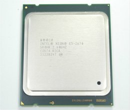 Wholesale Original E5 E5 Intel Xeon E5 Processor GHz M Cache GT s LGA SR0H8 C1 SROKX C2 E5 CPU normal work