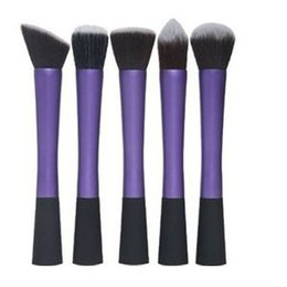 Mybasy 5pcs Small waist makeup brushes soft set toiletry kit blending Foundation powder beauty maquiagem dotting cosmetic