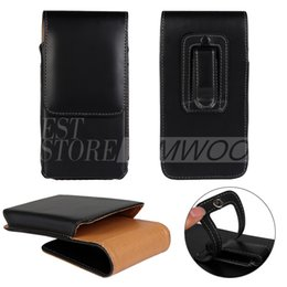 Wholesale Universal Wallet PU Leather Upright Holster Case Vertical Cover Pouch With Belt Clip For Apple iPhone S Plus