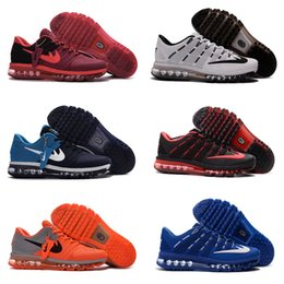 Wholesale 2016 new KPU Running Maxes Shoes Men s Airs Trainers Sports BENGAL Orange Grey Man Kids shoes Size