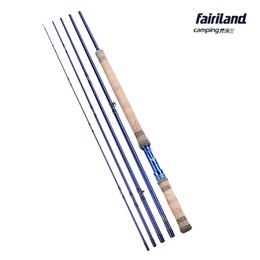 Wholesale Fairiland ft m SEC Fly Fishing Rod Carbon Freshwater Blue Fashion Design Fly Rod