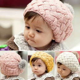 Wholesale Hot Sell Fashion Newborn Photography Props Autumn Winter Baby Caps Crochet Caps for Children Baby Hat for months years