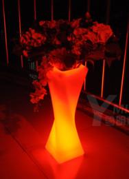 Wholesale Plastic LED Floor Lamp Luminous Decor Night Light Landscape Colors Waterproof Outdoor Floor Lamp for Garden Low Voltage LED Ground Light