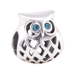 Wholesale Animal beads charms authentic original sterling silver fits for pandora bracelets winter collection aleLW638H9