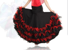 2016 Dresses For Ballroom Dancing Latin Womens Stage Singer Dancedress Jazz Waltz Tanto Dance Skirts Ballroom Dance Dress