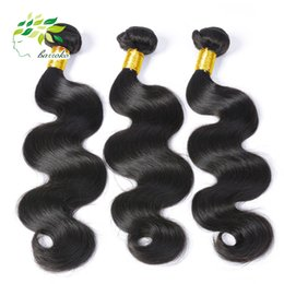 Grade 7a Unprocessed Brazilian Virgin Hair Body Wave Natural Colore 4Pcs  3 Bundles Brazilian Hair Weave Wholesale Human Hair Extensions