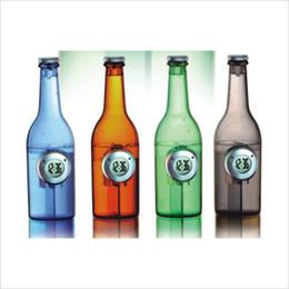 Promotion énergie ups bouteille d'eau Creative poivron rouge énergie verte décoration à la maison regarder alarme capacité en eau horloge pour se lever