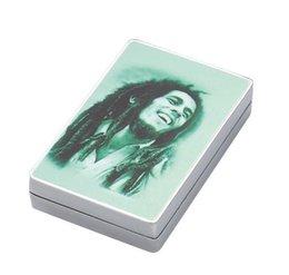 Wholesale 86mm layer Poker Card Tobacco Herb case Grinder zinc alloy Metal grinder smoking pipe vaporizer new