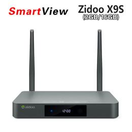 Wholesale Newest Zidoo X9S Android Smart tv box Zidoo X9S Realtek RTD1295 Quad Core android K TV BOX