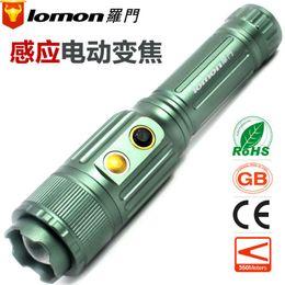 a lungo raggio produttori di illuminazione torcia elettrica ricaricabile salomone t6 induzione elettrica all