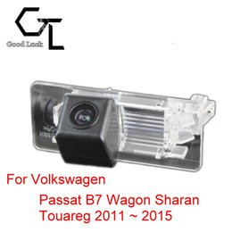 For Volkswagen VW Passat B7 Wagon Sharan Touareg 2011 ~ 2015 Wireless Car Auto Reverse CCD HD Rear View Camera Parking Assistance