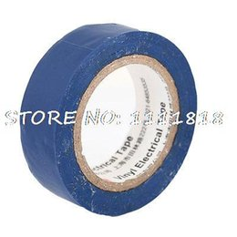 Wholesale Blue PVC Insulating Adhesive Electrical Tape Roll Meter ft