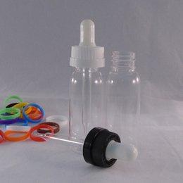 New arrival Factory wholesale 30ml Empty Plastic Dropper Bottles with Child Proof caps Empty E Liquid e juice PET Bottles