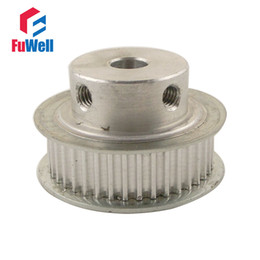 Wholesale 3M Type mm Teeth Pitch Timing Belt Pulley Teeth Synchronizing Wheel Pulley Fit for mm Width Belts with M5 Screws