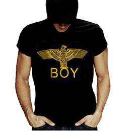 Wholesale New Novel T Shirt Brand Men Newest Printed Boy London Tees Tops Harajuku Letter Tee Shirts