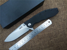 Wholesale folding knife new ZERO TOLERANCE Double bearing pocket knife D2 blade utility outdoor camping knife