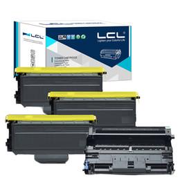 LCL TN2120 TN2110 TN 2120 2110 DR2100(4-pack)Toner Cartridge Compatible for Brother HL-2140 HL-2150 HL-2150N HL-2170 HL-2170W MFC-7320 MFC-