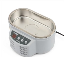 Wholesale Modern DADI968 W W V V Mini Ultrasonic Cleaner For Jewelry Glasses Circuit Board Baby s Feeding Tools Toys