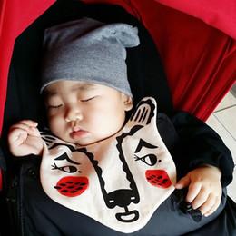 New Baby Boys Girls Bibs Cute Animals Tiger Cotton Burp Cloths For Newborn Infant Bandana Towel Scarf Mom's Care Sleeves