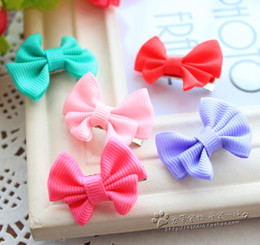 Wholesale 50pcs Double valve butterfly hairpin dog pet accessories Teddy Bichon shaggy dog hair headdress Dog grooming pet supply