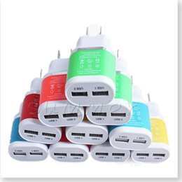 Wholesale Wall Charger Port Amp Dual USB Wall Charger AC Power Plug Adapter for iPhone s Plus iPad Air miniGalaxy S6 Note