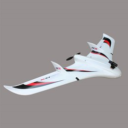 Wholesale ZETA FX Buffalo M RC Planes Drones K Wrapped Carbon Tube Spars FPV CH RC Flying Wing Aircraft with Removable Wing s mah Lipo