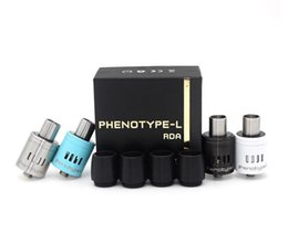 Wholesale Most popular atomizer Phenotype L RDA machinery manufacturers selling electronic cigarettes big smoke for DHL