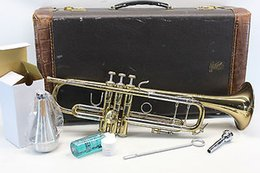 Wholesale Bach Stradivarius ML Bb Trumpet Professional W Hard Case amp more L K