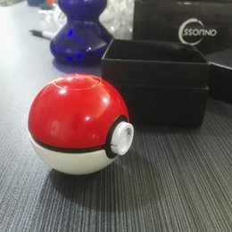 Wholesale 2016 Newest August Grind Zinc Alloy Grinders Pokeball Herb Grinder For Smoke Parts mm Outer Diameter Glass Bong