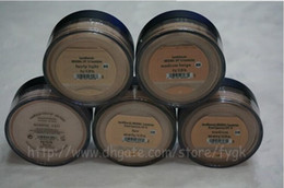 Wholesale HOT Minerals original Foundation Medium C10 C25 N10 N20 g NEW Click Lock Highest quality Free DHL