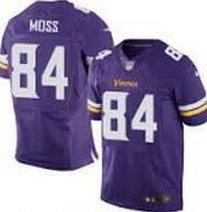 Wholesale Randy Moss Minnesota elite JERSEY shirts size S small xl