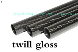 1-10pcs 22MM OD x 18MM ID x 1000MM (1m) 100% Roll 3k Carbon Fiber tube   Tubing  shaft, wing tube Quadcopter arm Hexrcopter 22*18